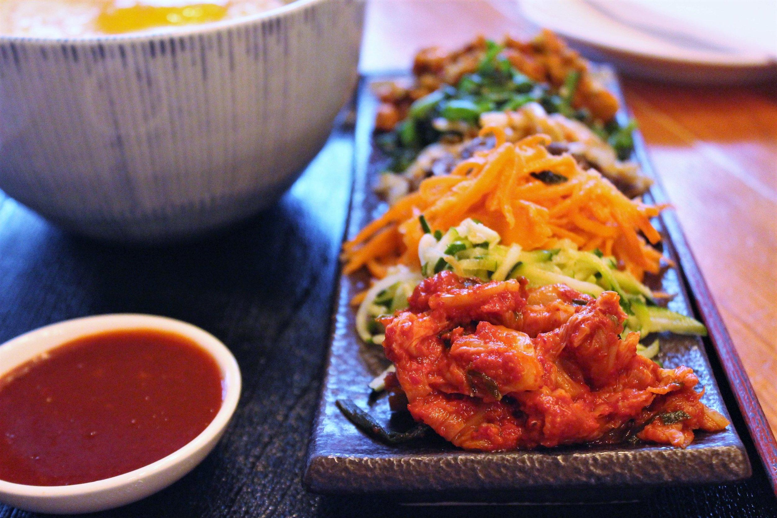 Kimchi Pork Bibim-Bap
