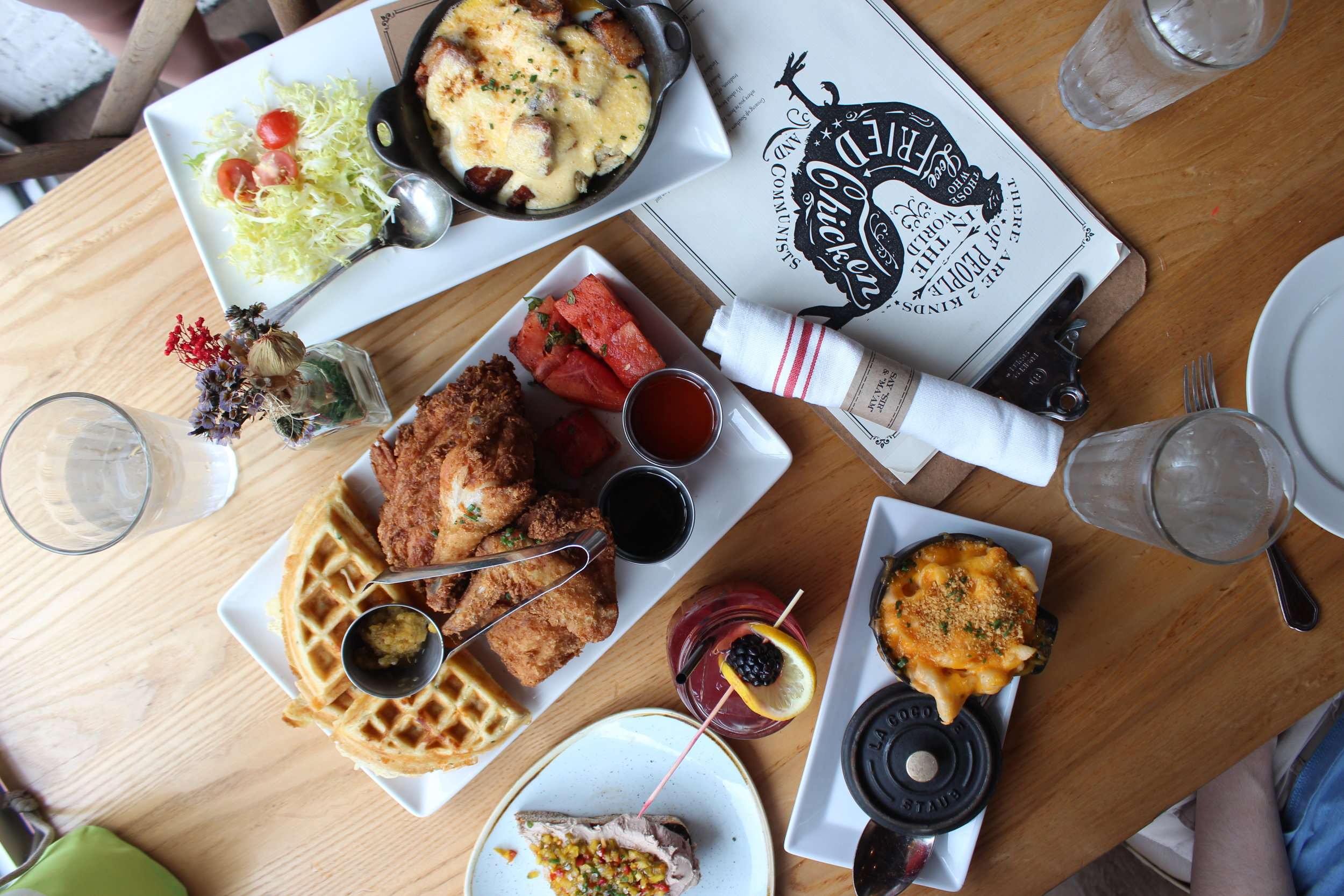 Brunch at Yardbird Southern Table and Bar