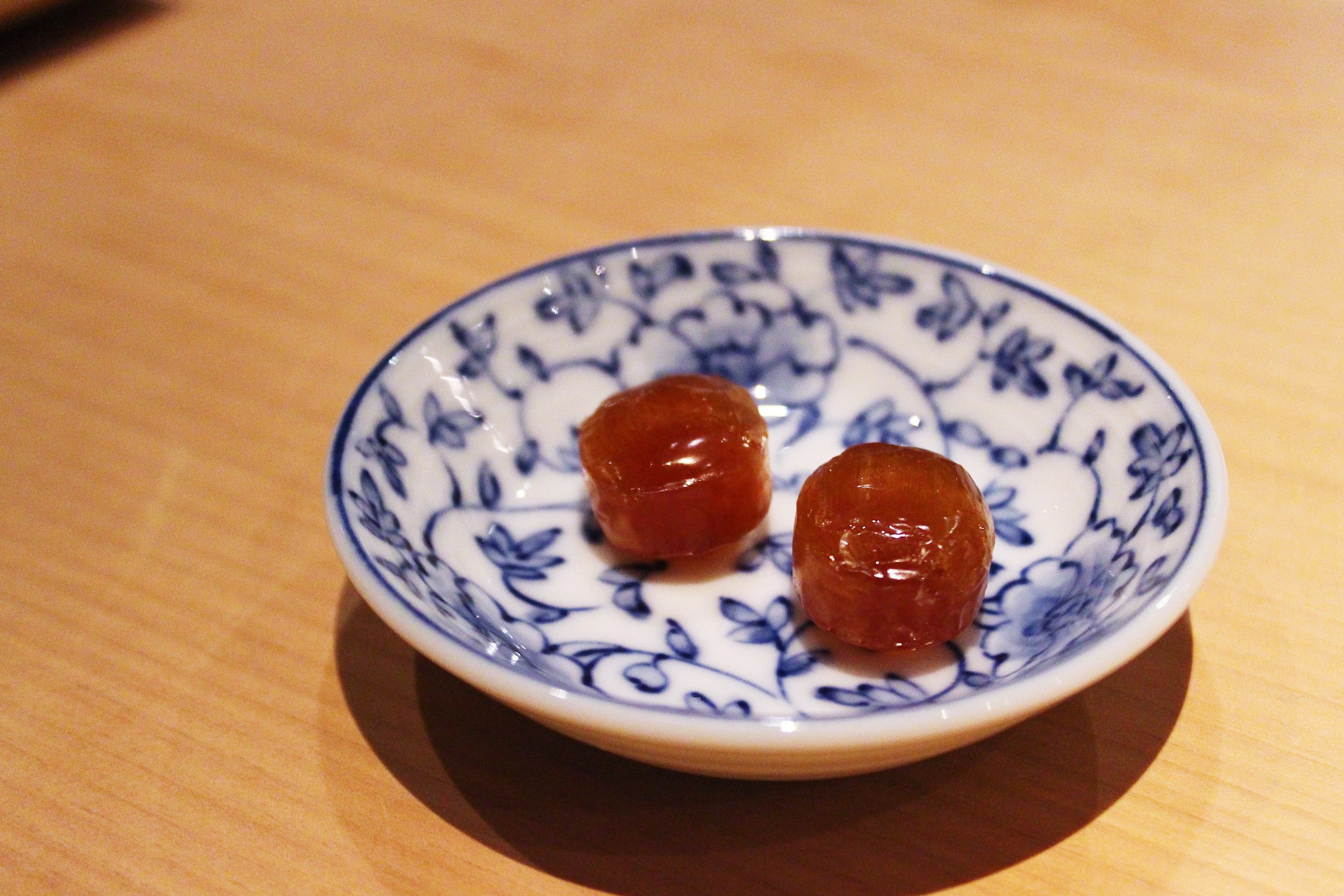 Soy Sauce Candy at NAOE