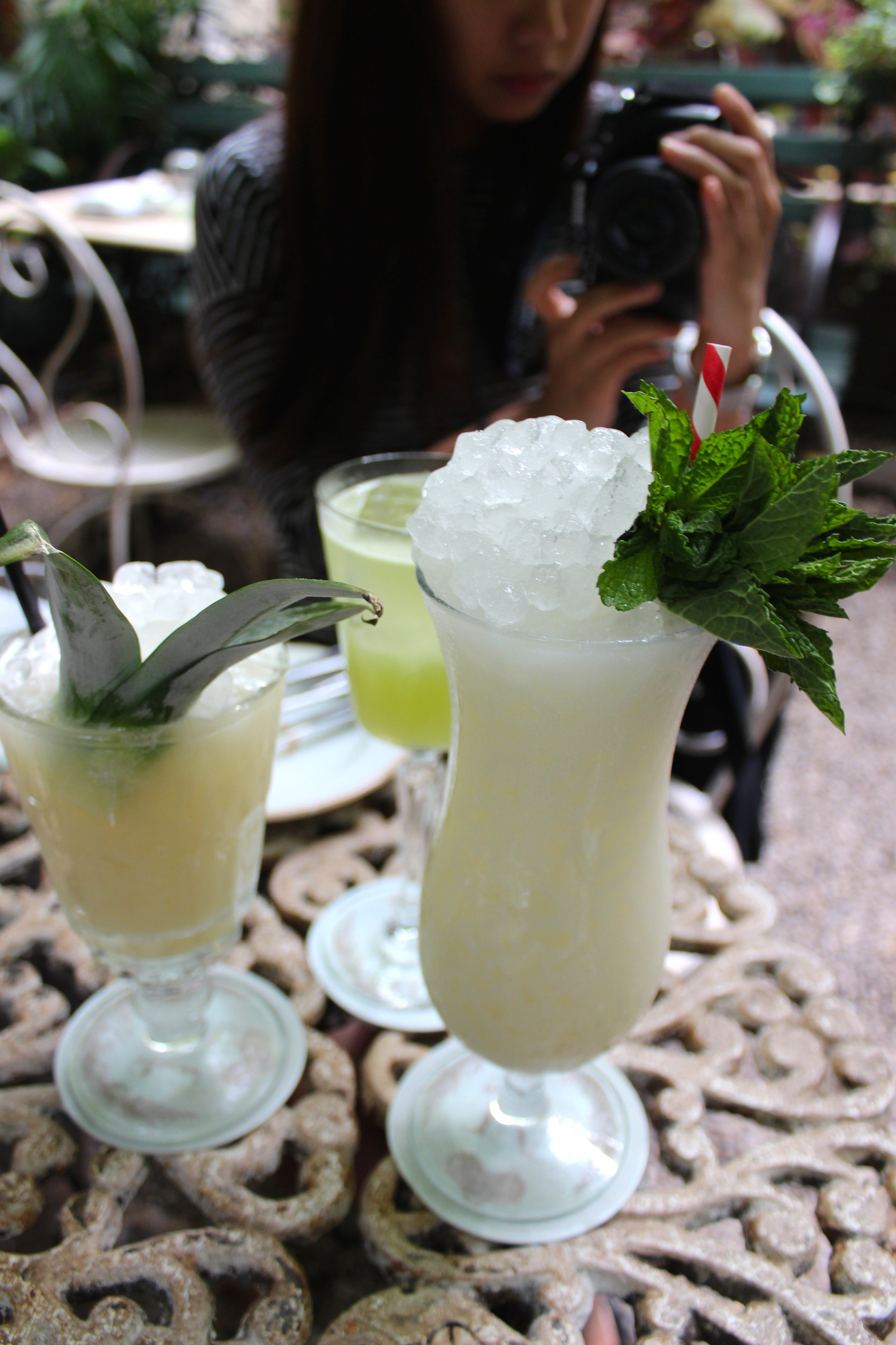 Maison Absinthe Colada, The Great Bambino, and the Walcott Express at Maison Premiere