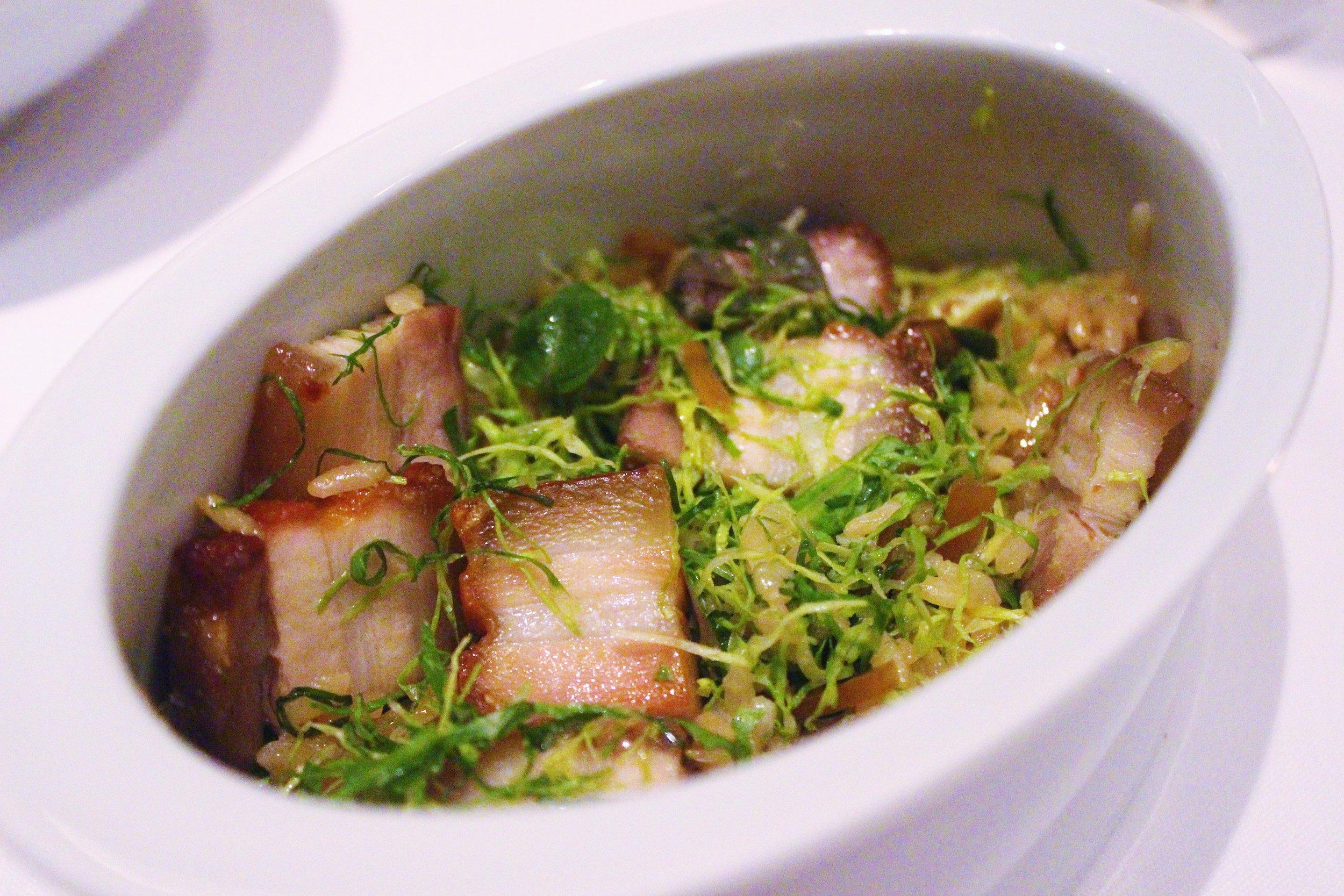 Bossam: Crispy Pork Belly and Dwenjang Rice