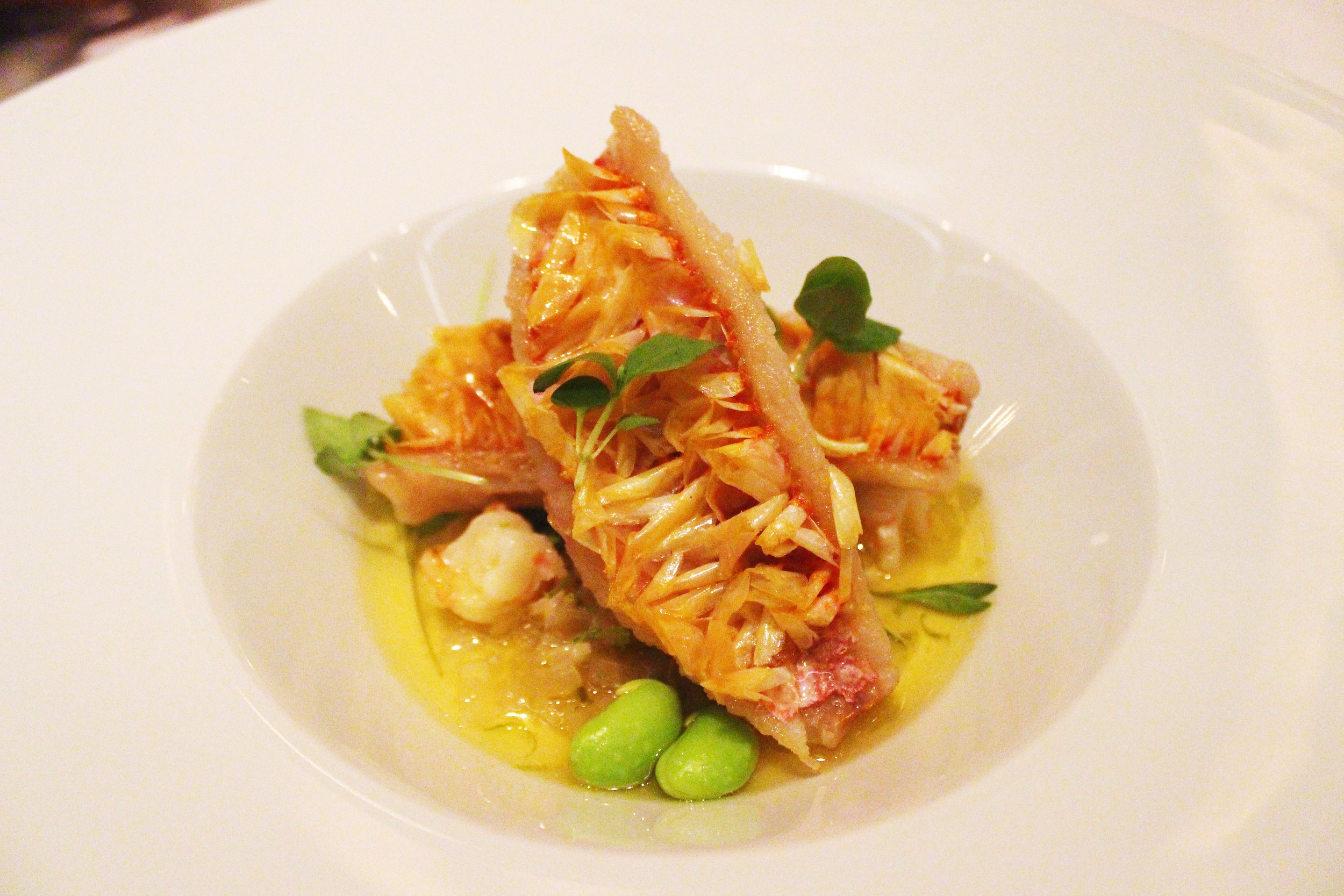 Crispy Sea Mullet with Shrimp Salsa