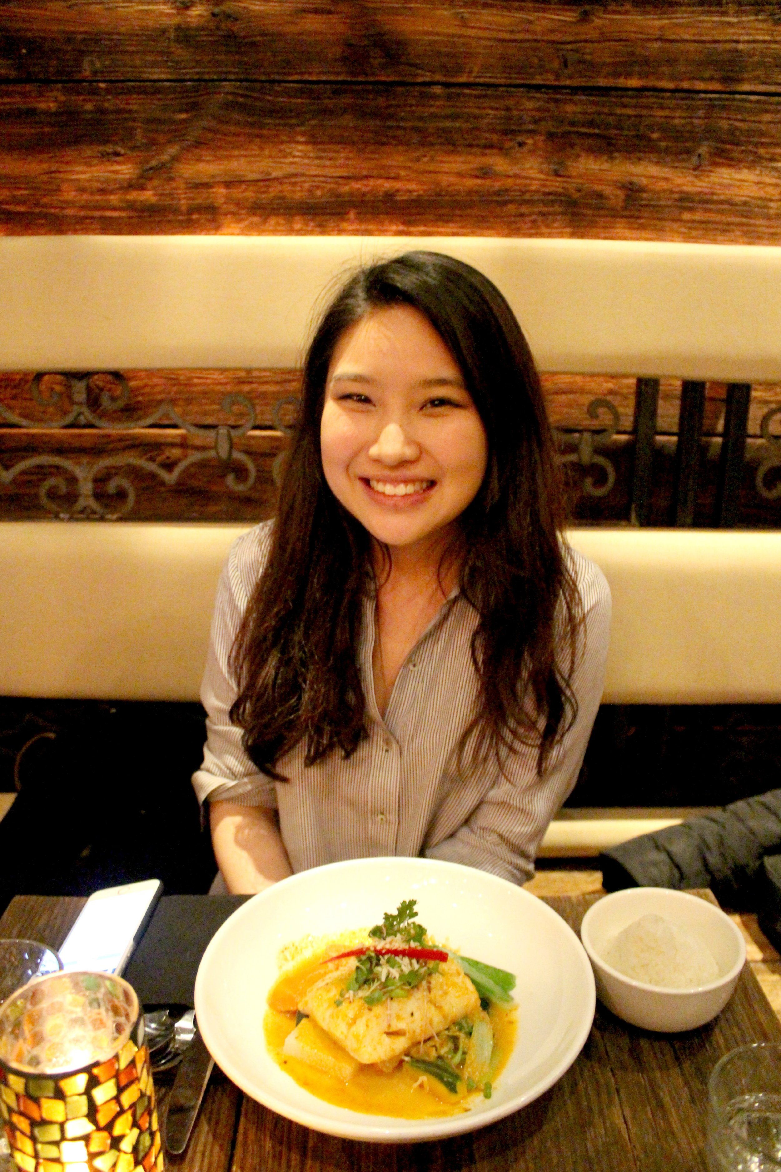 Helen at Up Thai