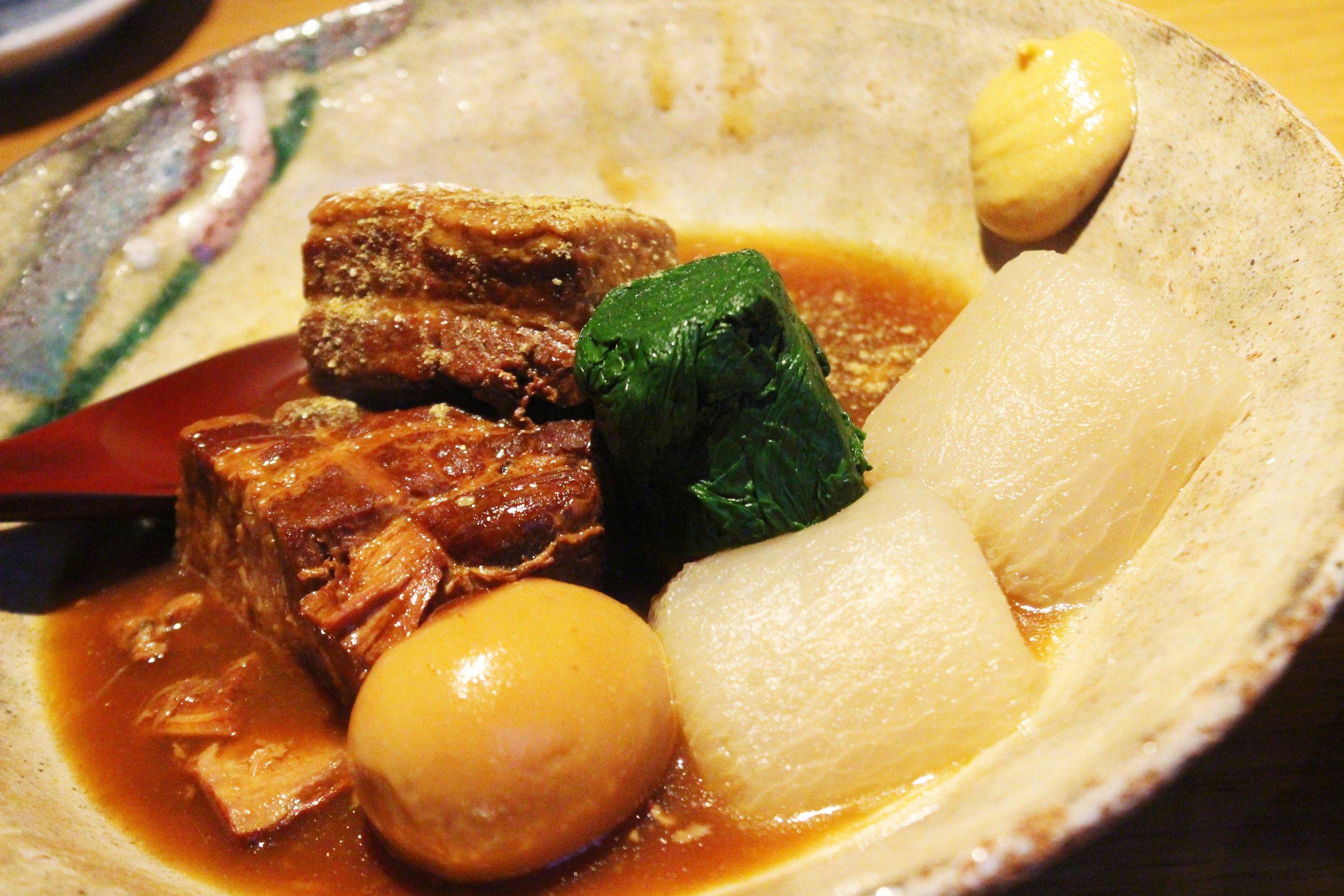 Kurobuta Kakuni at EN Japanese Brasserie