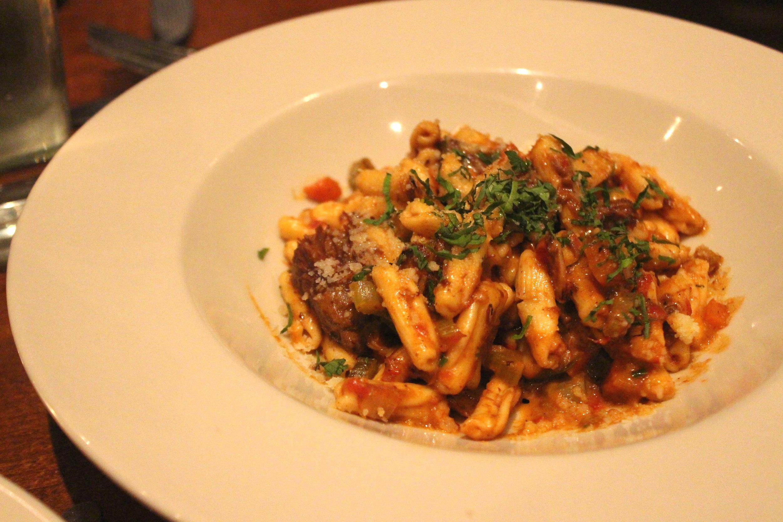 Cavatelli with a ten-hour short rib ragu and mascarpone