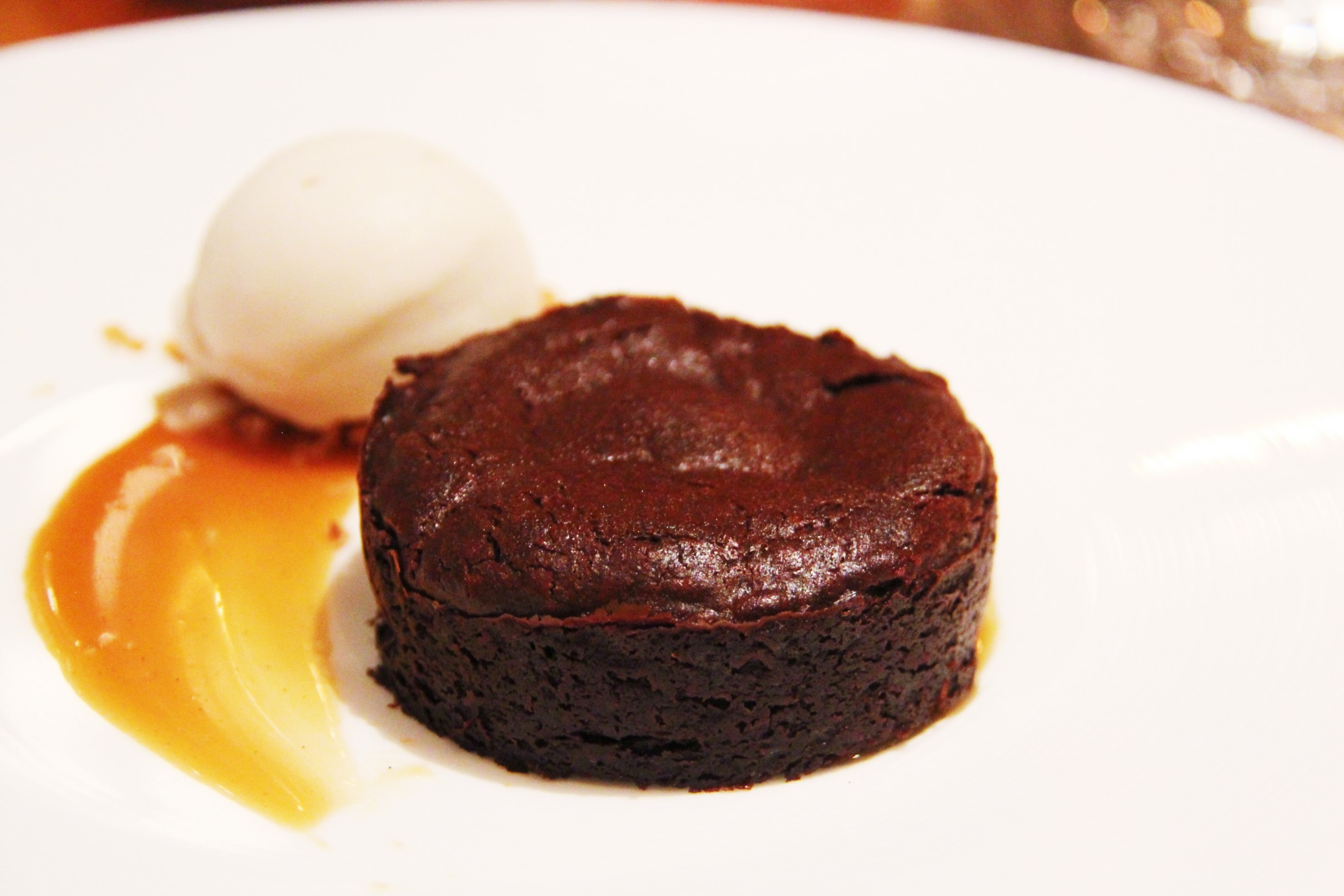 Chocolate Mousse, Espresso Caramel, Mascarpone Cream