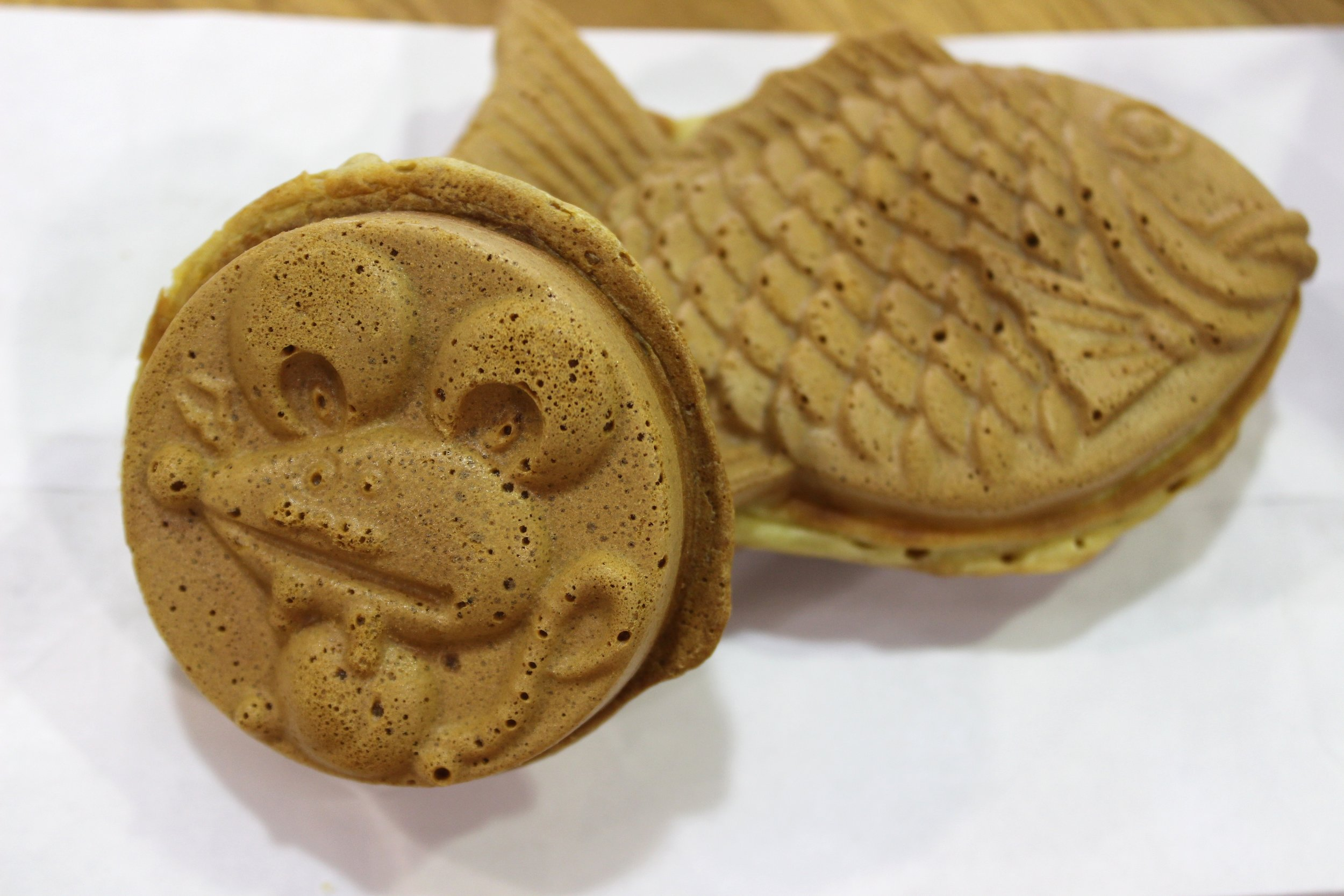 Taiyaki and Cream-yaki