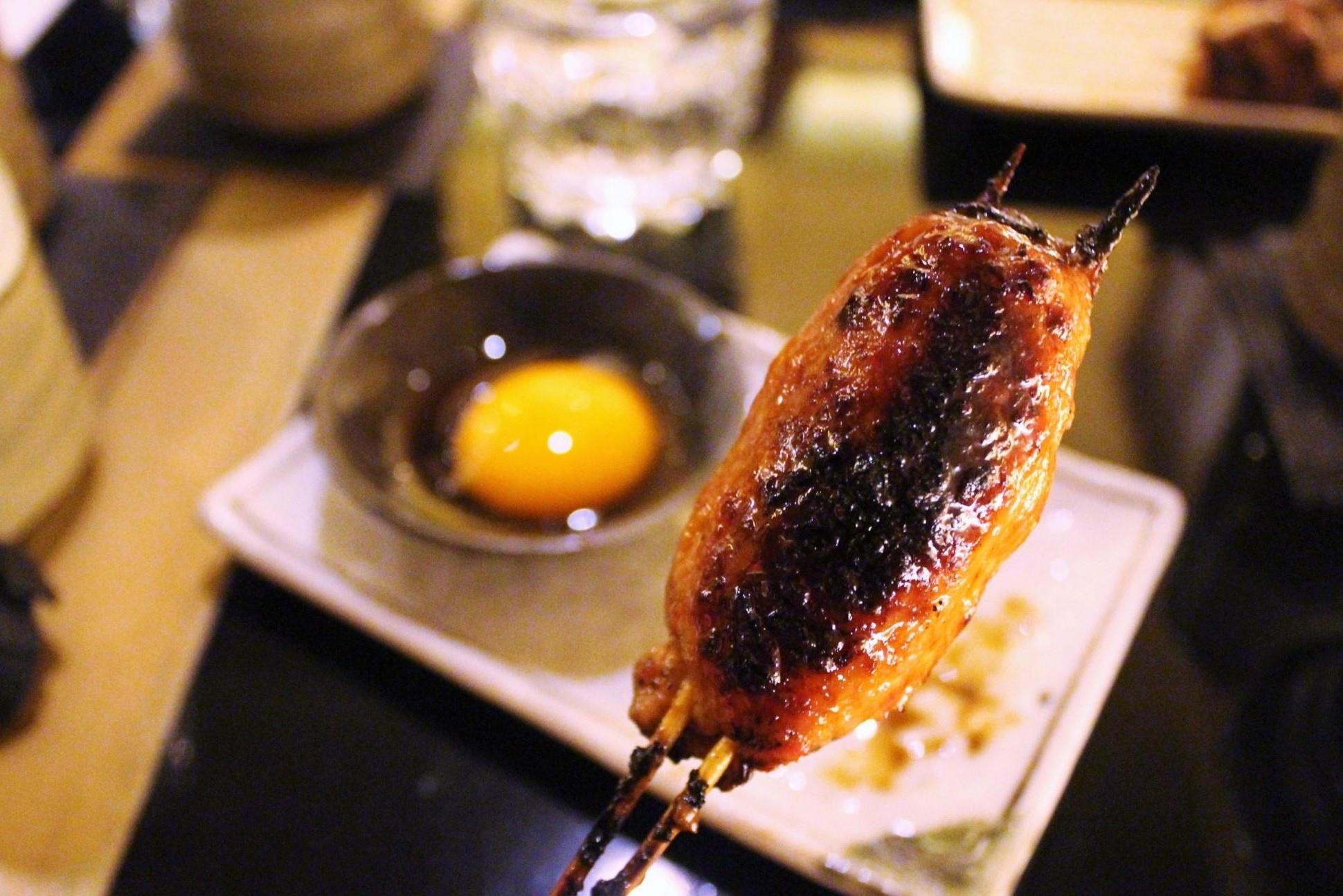 Chicken Meatball with Yolk