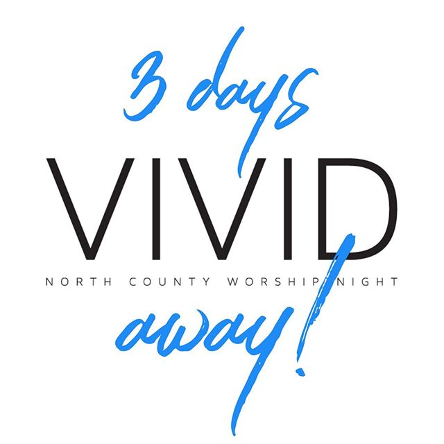 Our team is working hard preparing an amazing night for you to commune with God! What songs are you hoping to hear?? #vividworship