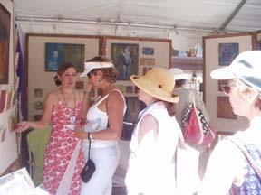 many moons ago - Contemporary Spanish Market, Santa Fe NM