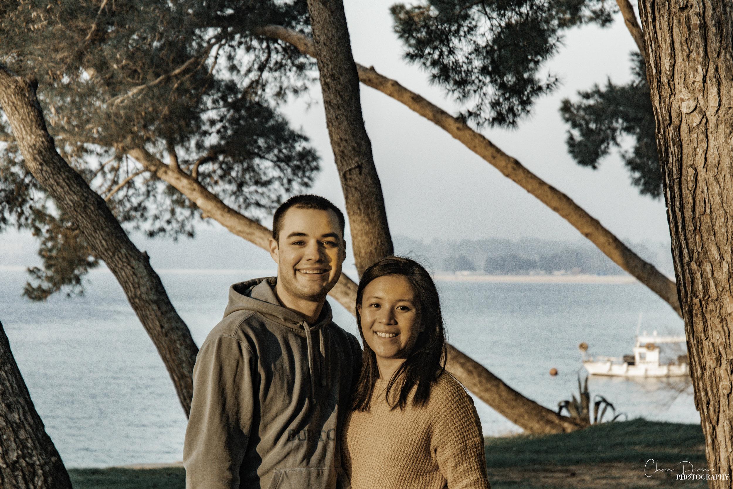 George & Chana in Pula, Croatia