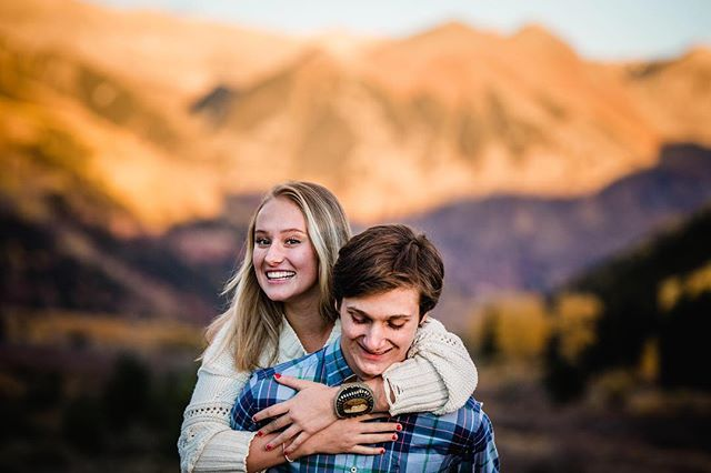 High school sweethearts ❤️ . . . . . . . . . . . . #telluridephotographer #tellurideportraitphotographer #telluridefamilyphotographer #telluridesenior #2019senior #seniorphotos #highschool #sweethearts #couplephotography #postthepeople #telluride #tellurideco #telluridecolorado