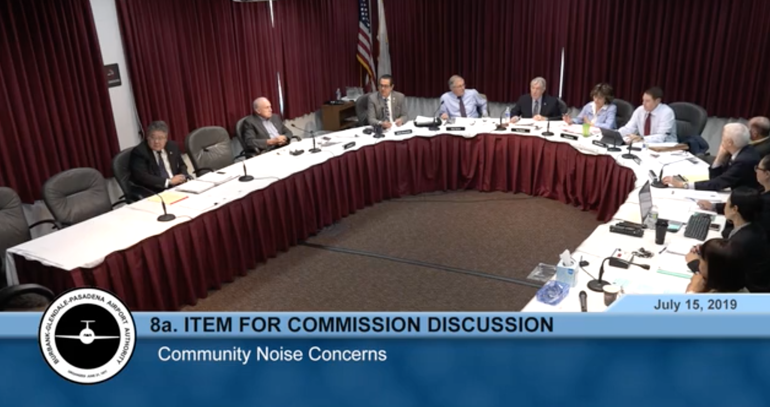 Joint Task Force Announced at BUR Commissioners meeting on July 15, 2019