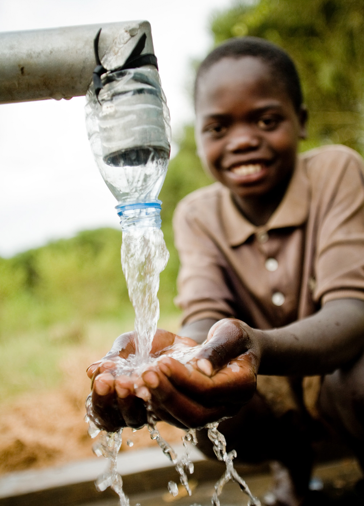 Make an Impact. - Children need access to clean water in order to be healthy, attend school, and to grow both physically and cognitively. The only way to truly break the cycle of poverty is to take a holistic approach with a sustainable solution.