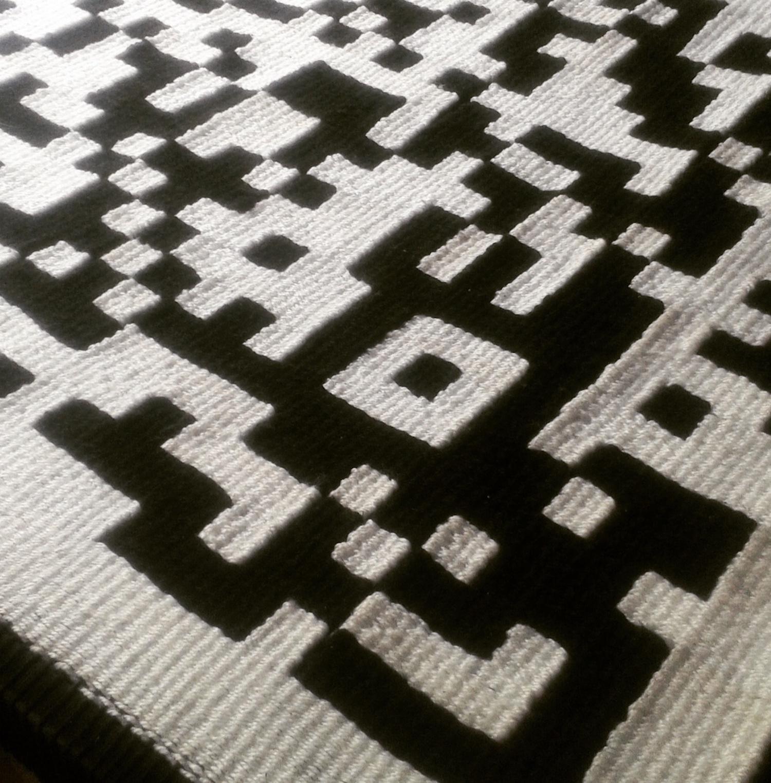 Codigo QR - Puedes leer este textil?