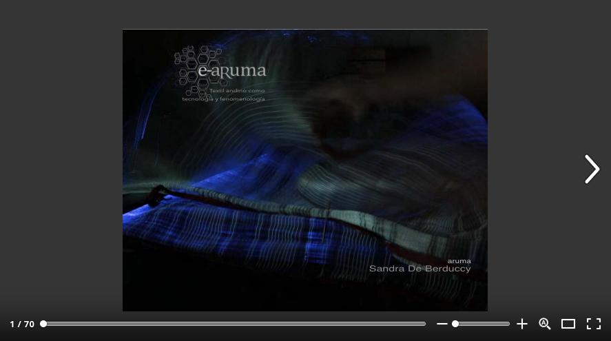 Proyecto e-aruma /Catálogo on-line