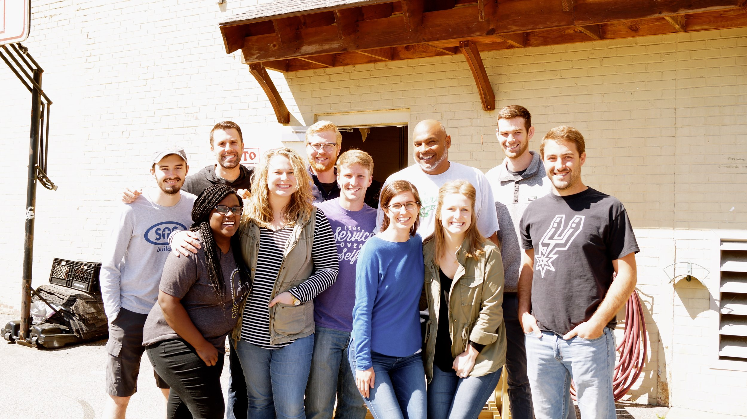 Full-Time Staff - Our team of ten full-time staff members call SOS home year-round. Between camp construction and programming, registration and SOS Builds, this is the team that's got it covered!Meet our team