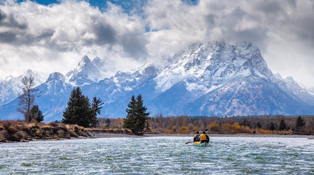 Scott on the Snake River (photo credit: Eric Henderson)