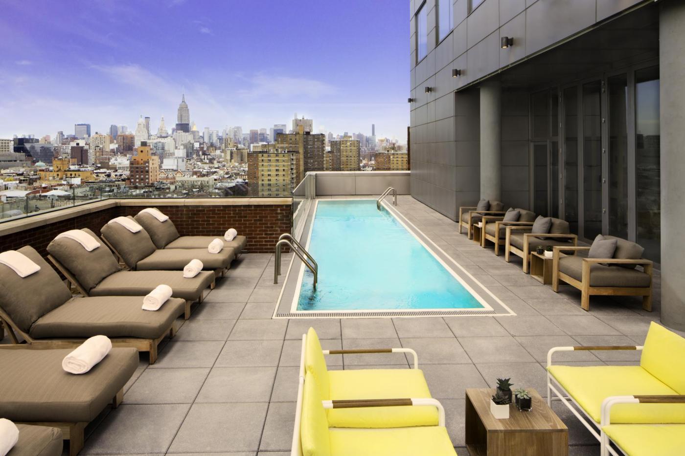 Mr Purple rooftop pool | photo cred: Gerber Group