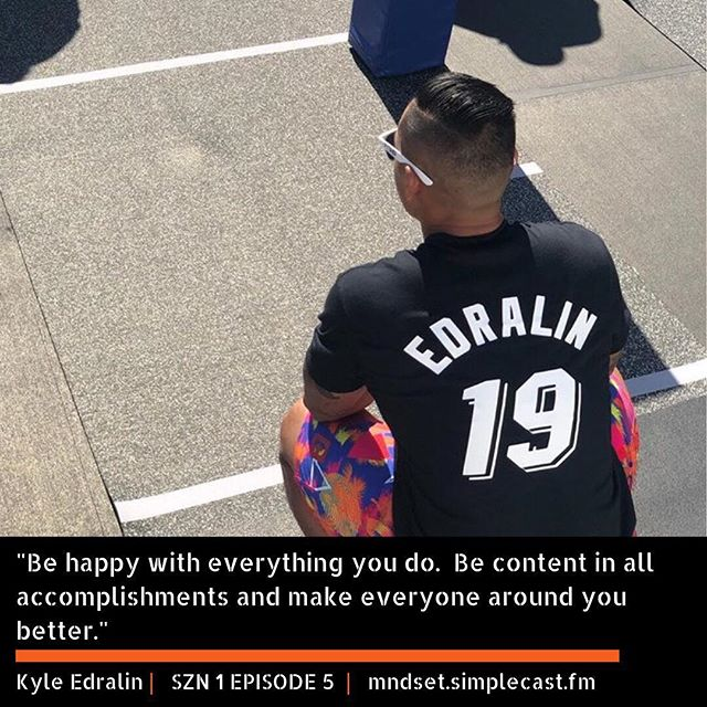 """SZN 1 EPISODE 5⠀ WHAT IS GREATNESS?⠀ //⠀ Being a firm believer in the phrase """"Struggle Breeds Greatness"""", we asked @k_edge25 what achieving greatness means to him.  Best way to describe his response would be selfless.  What does greatness entail for you?  Let us know in the comments section ⬇️⠀ //⠀ You can also catch our latest conversation with Kyle on Apple Podcasts, Stitcher and Simplecast 🎧 Link is in our bio ⠀ ⠀ #itsamndset⠀ #YearOfMNDSET"""