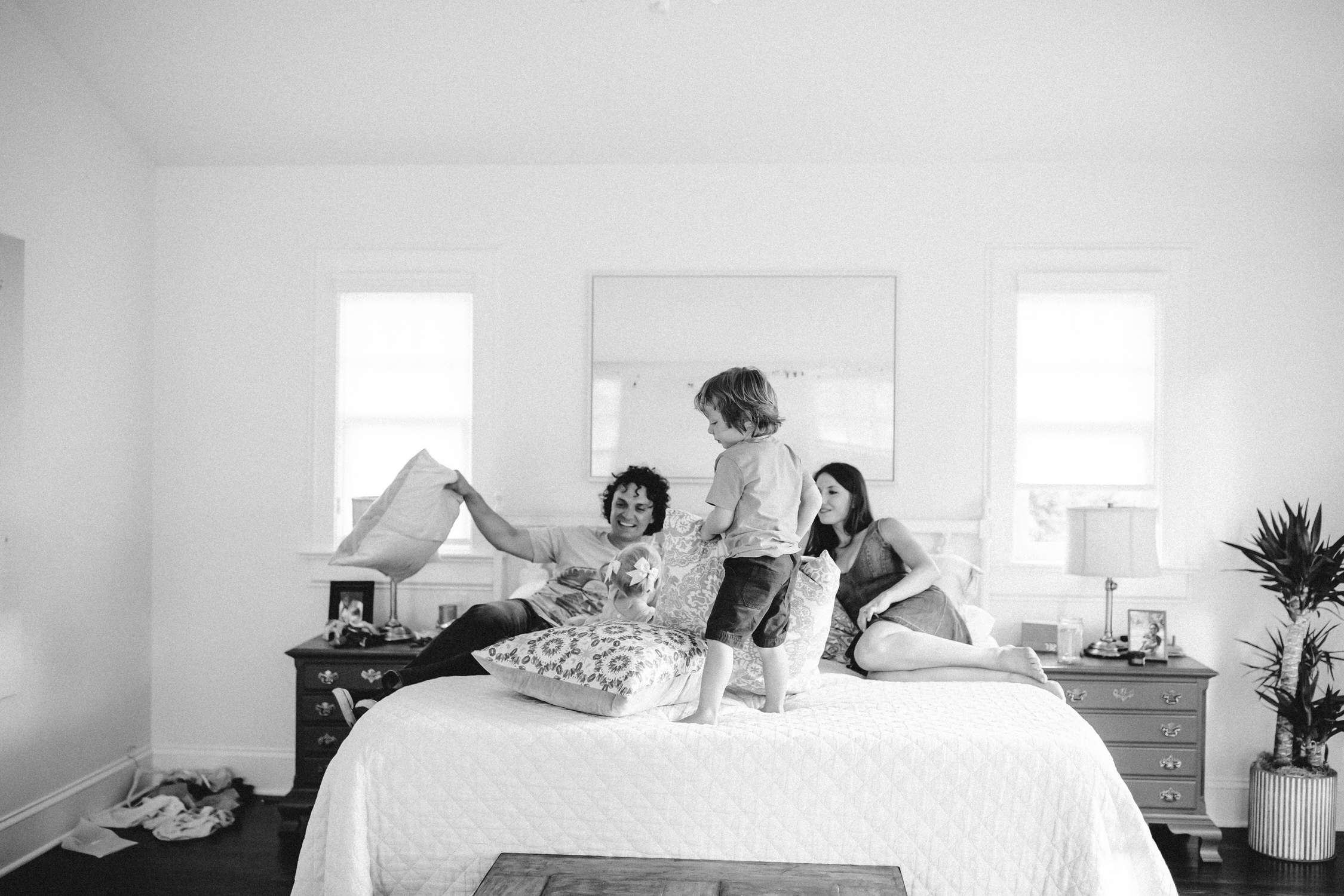 at home sessions - Document these moments before the kids out grow them. Make cookies, have pillow fights, show me what your life is like at home and I will show you how beautiful it is.