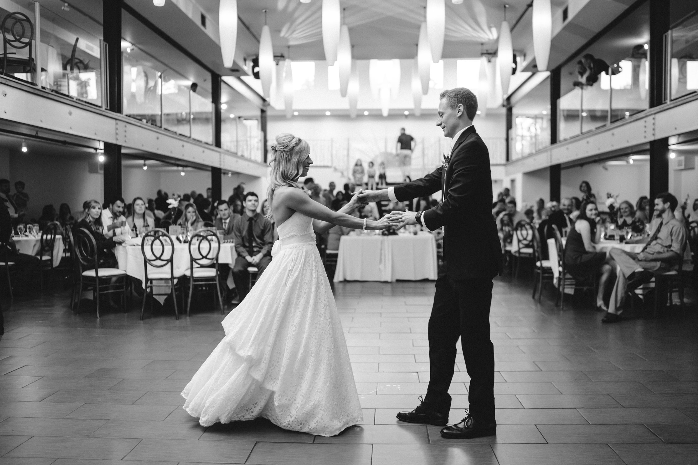 Wedding Day first dance, St Louis Wedding Photographer