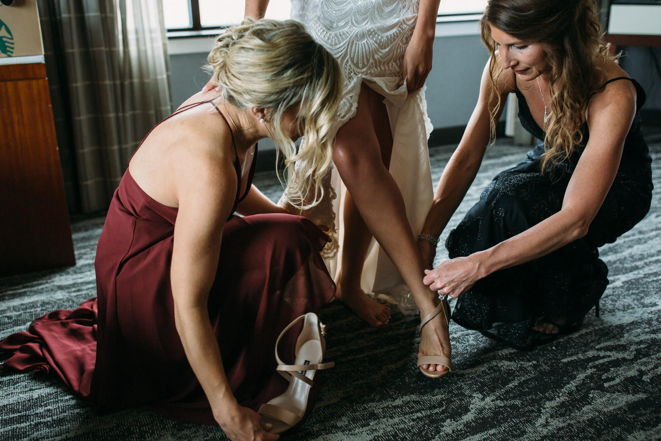 Wedding Details, getting ready Seattle