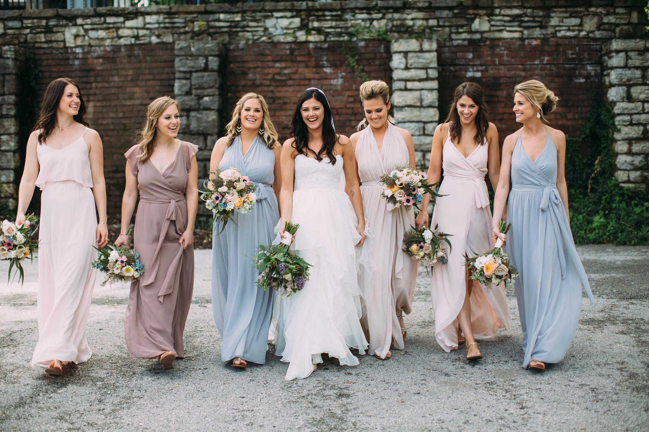St Albans Missouri Wedding, Bridesmaids