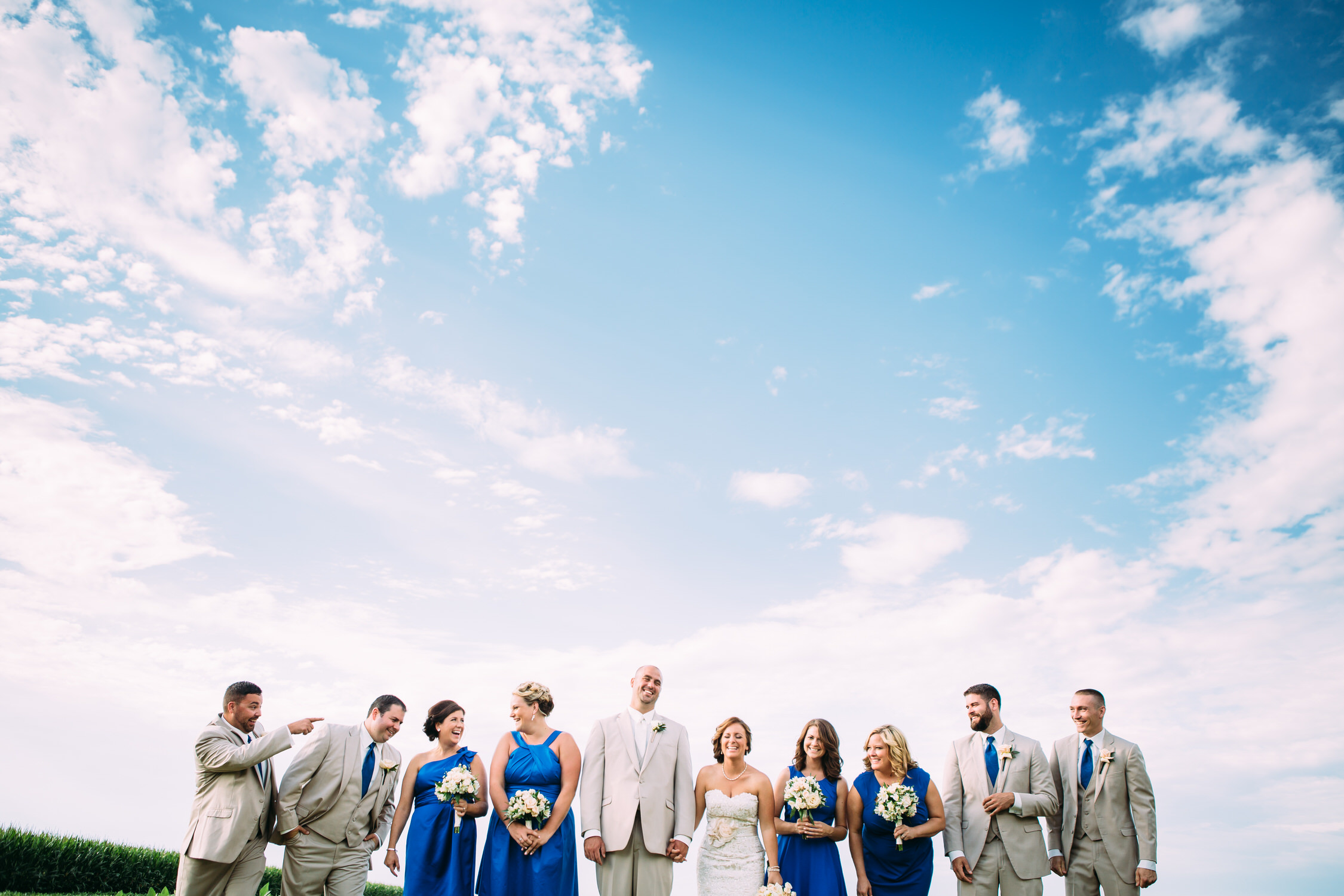 Farm wedding, Illinois wedding photographer