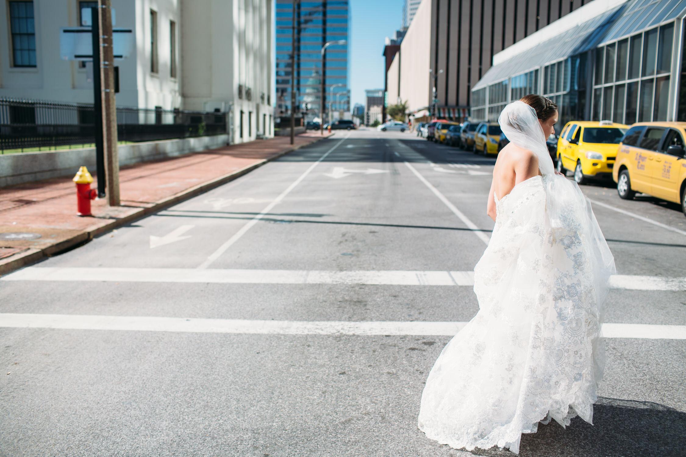 St Louis City bride,