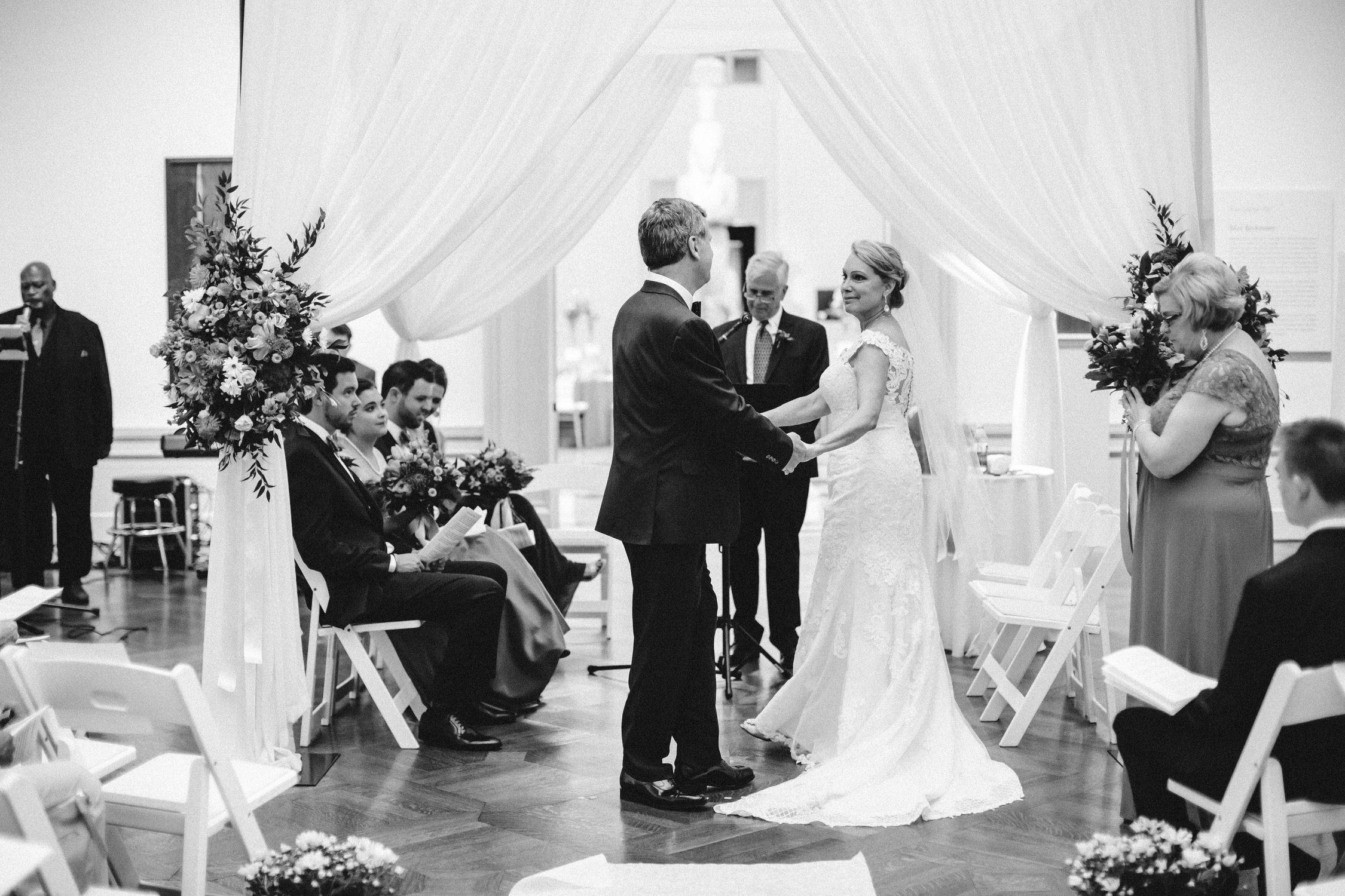 St Louis Art Museum Wedding, second wedding