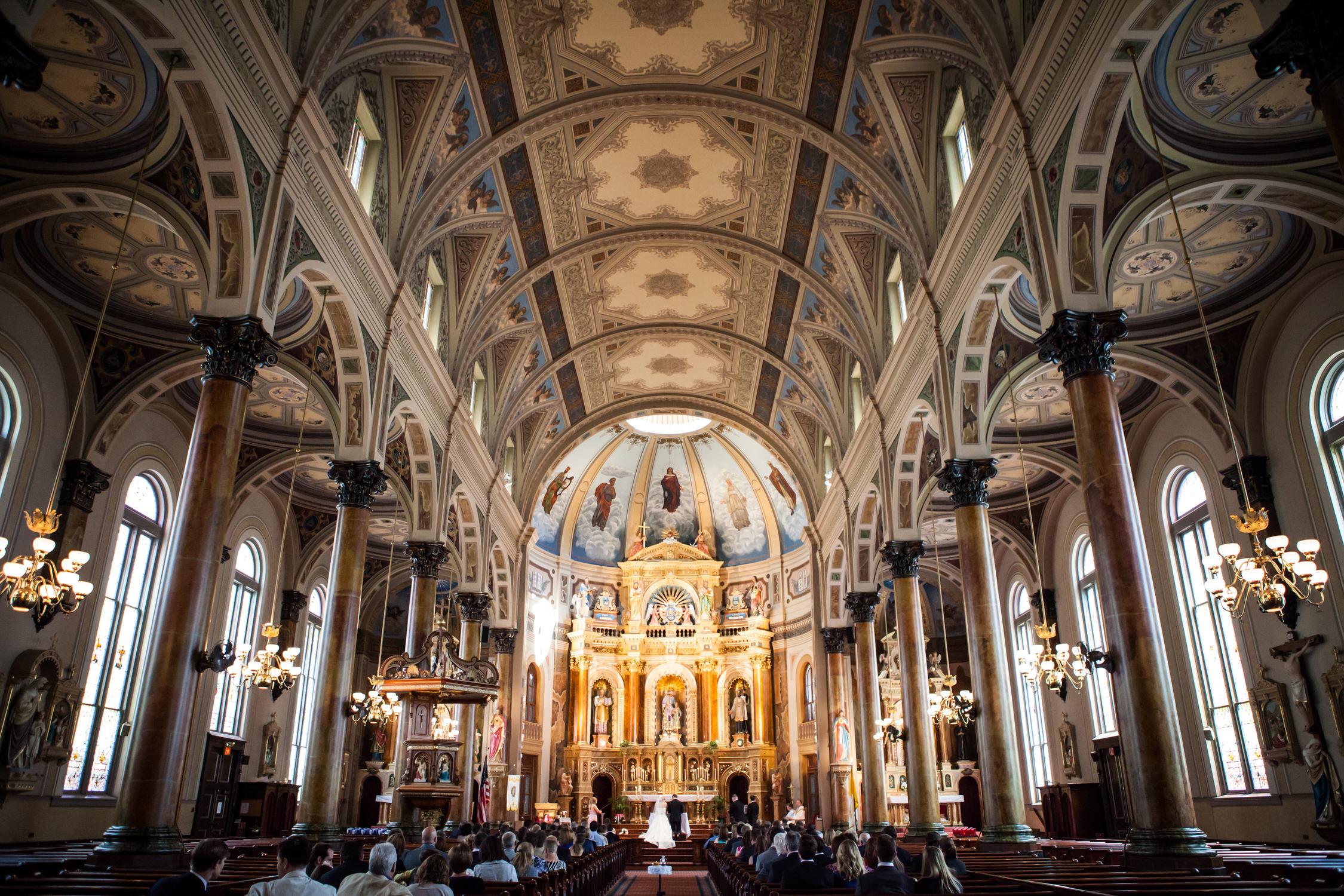 St Louis Church Wedding