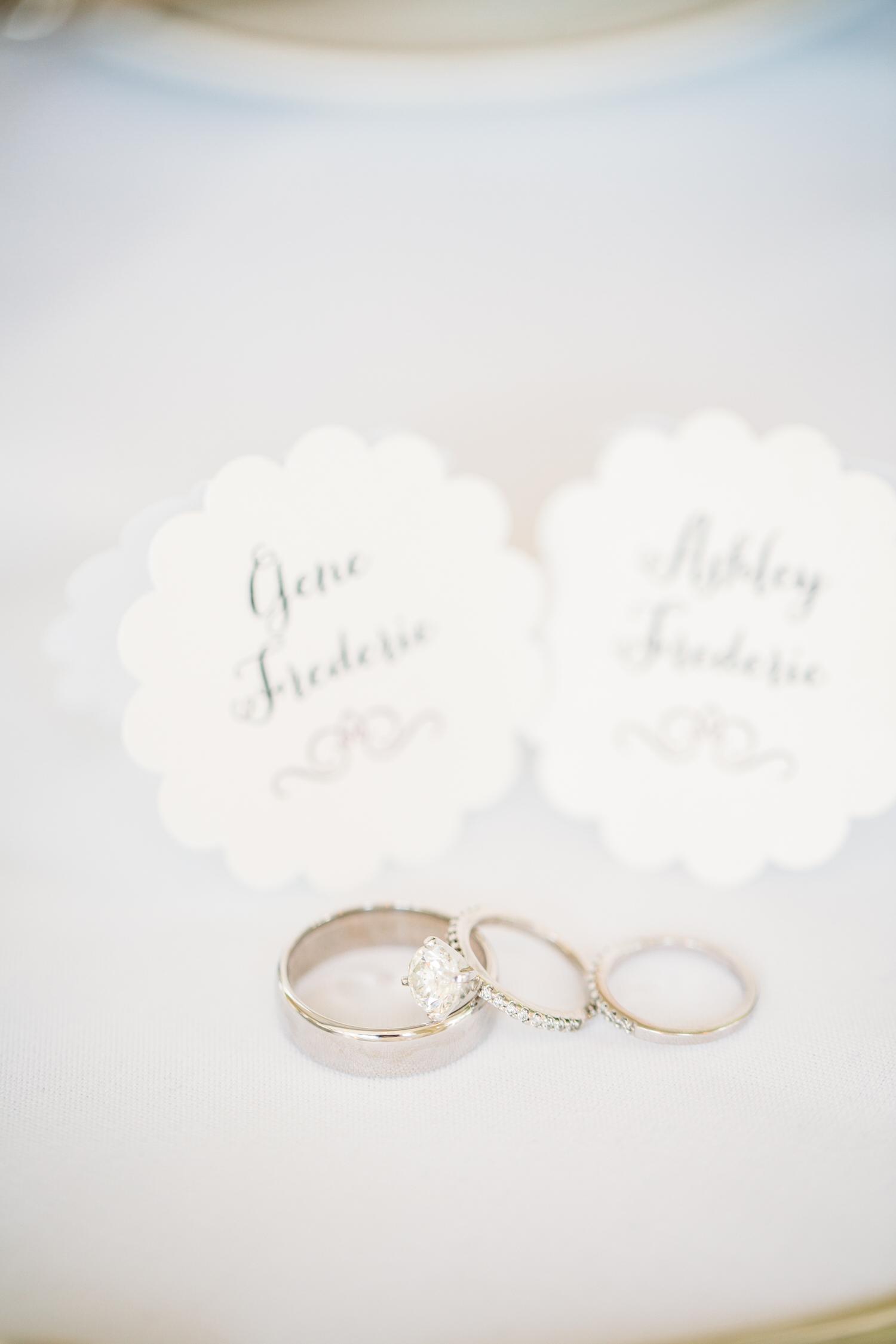 Wedding rings, St Louis Wedding