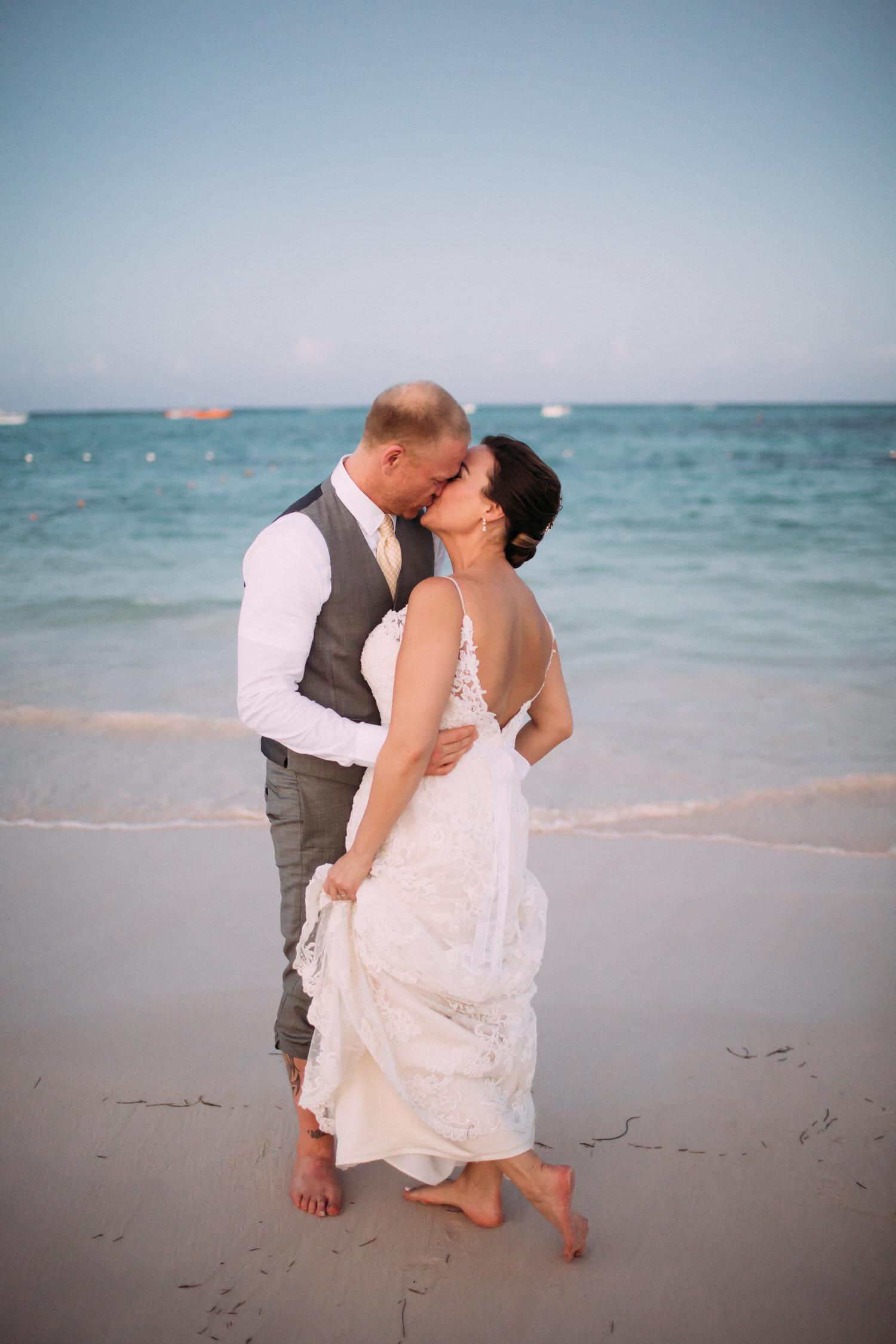 Dominican Republic Destination Wedding, beach, Photographer