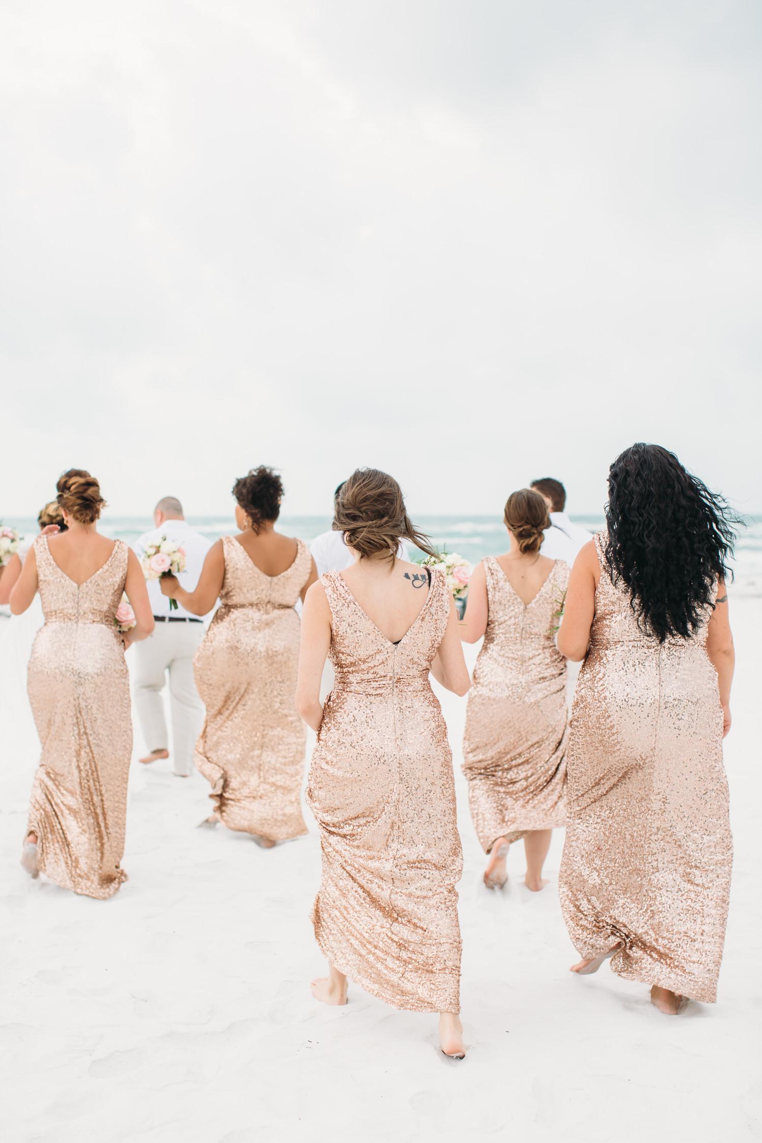 Lido Key Florida Beach wedding
