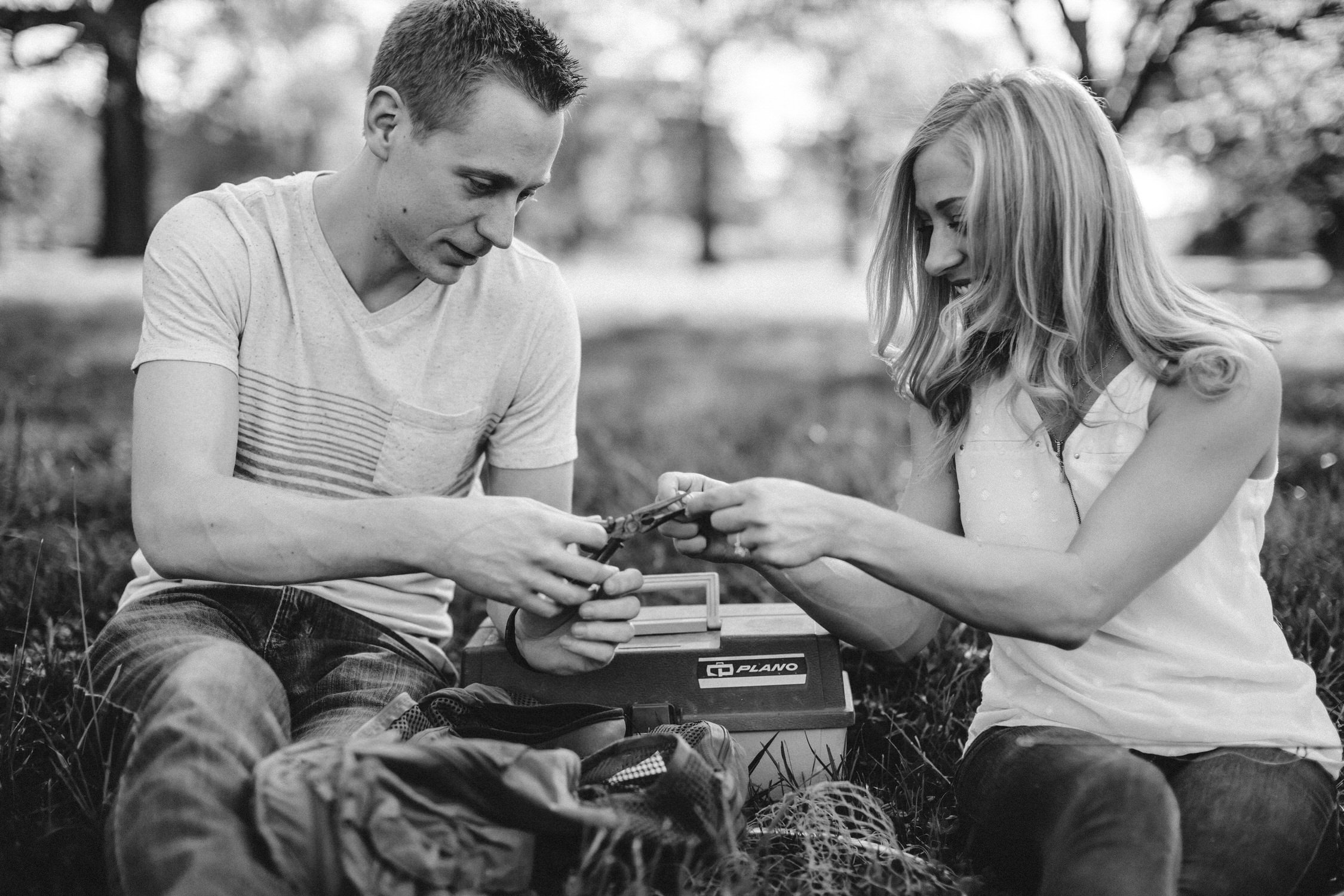 Custom Engagement photos, St Louis engagement photos, Forest Park Forever