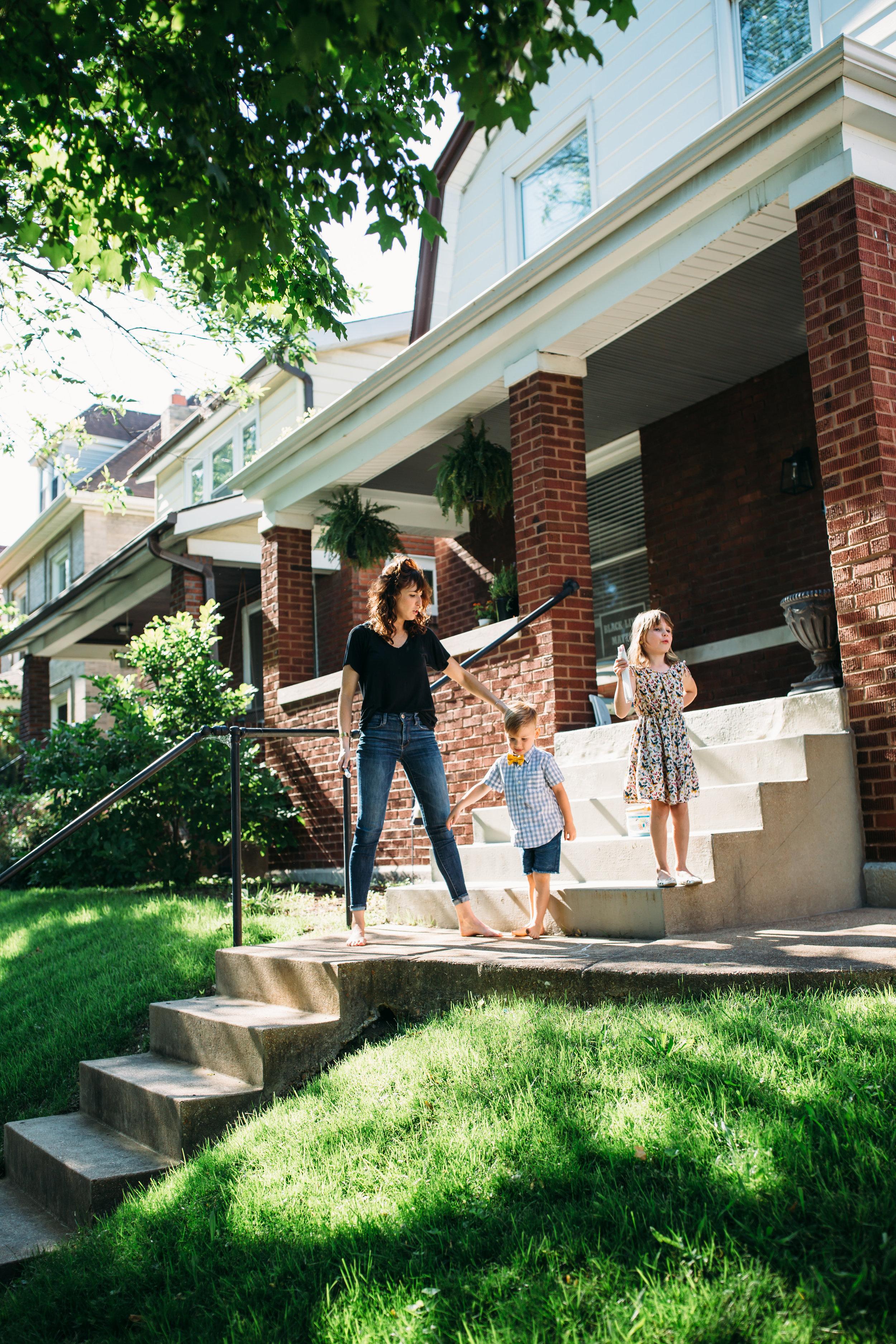 Real family photos, urban family photos, Chicago family photos