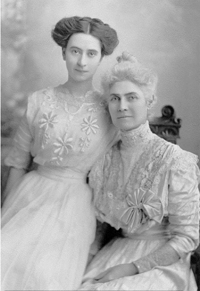Laura Baker and her niece, Laura Baker Millis