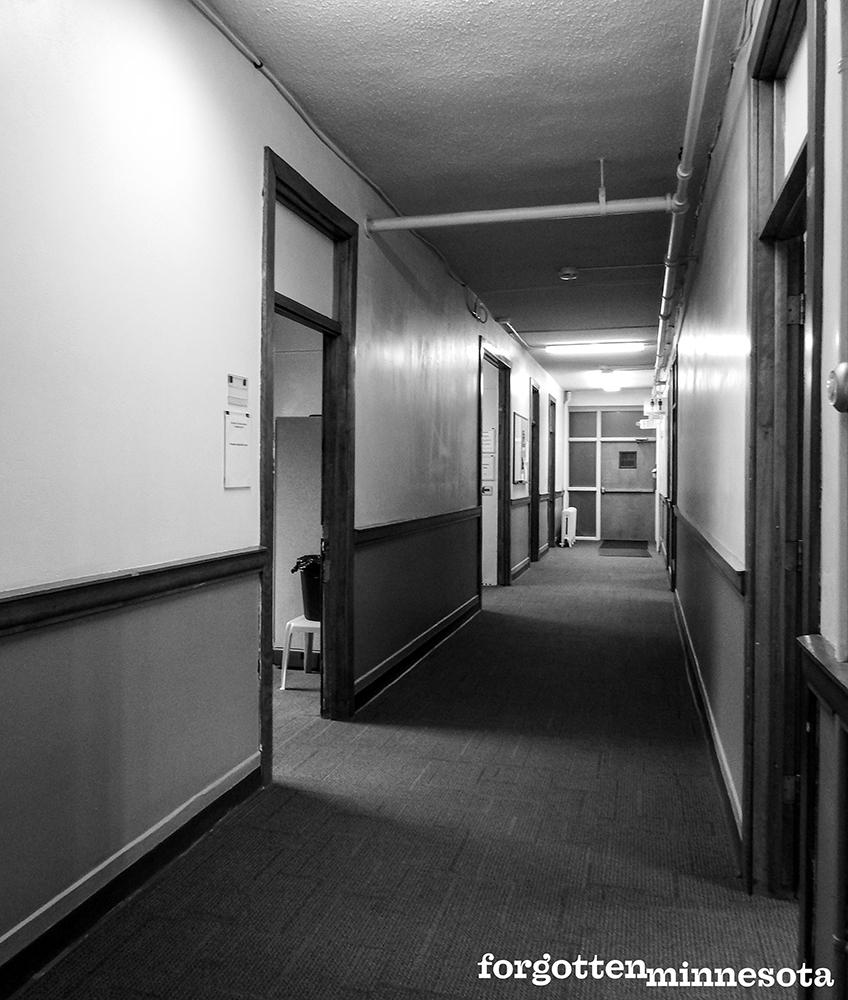 Interior of Mudbaden building in 2017.