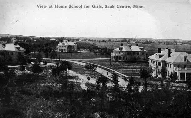 Minnesota Home School for Girls in 1912 (MNHS: MS6.9 SK7.2 r4)