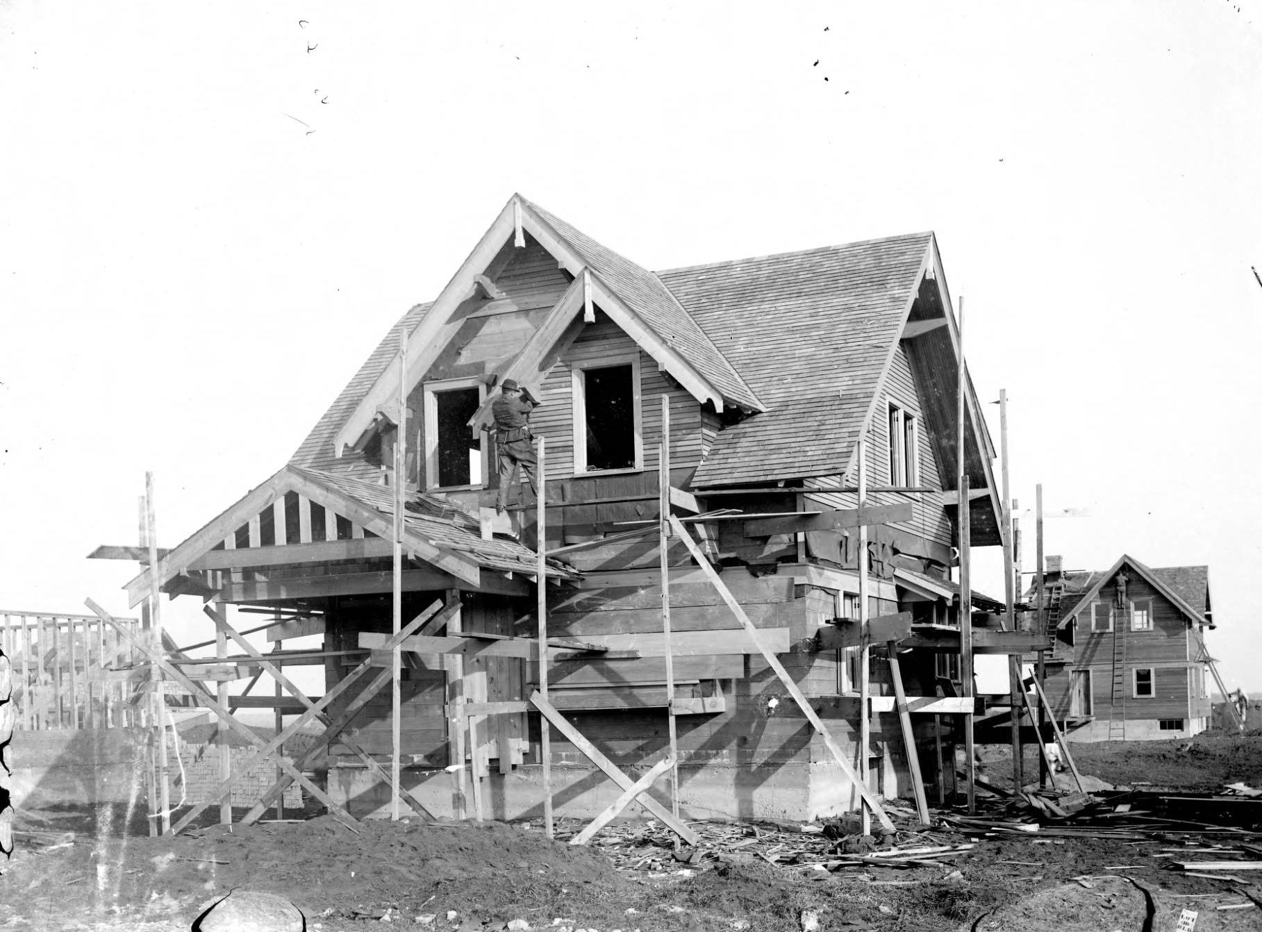 Pantown house under construction