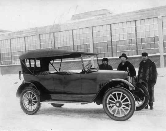 Pan Motor Car. MNHS