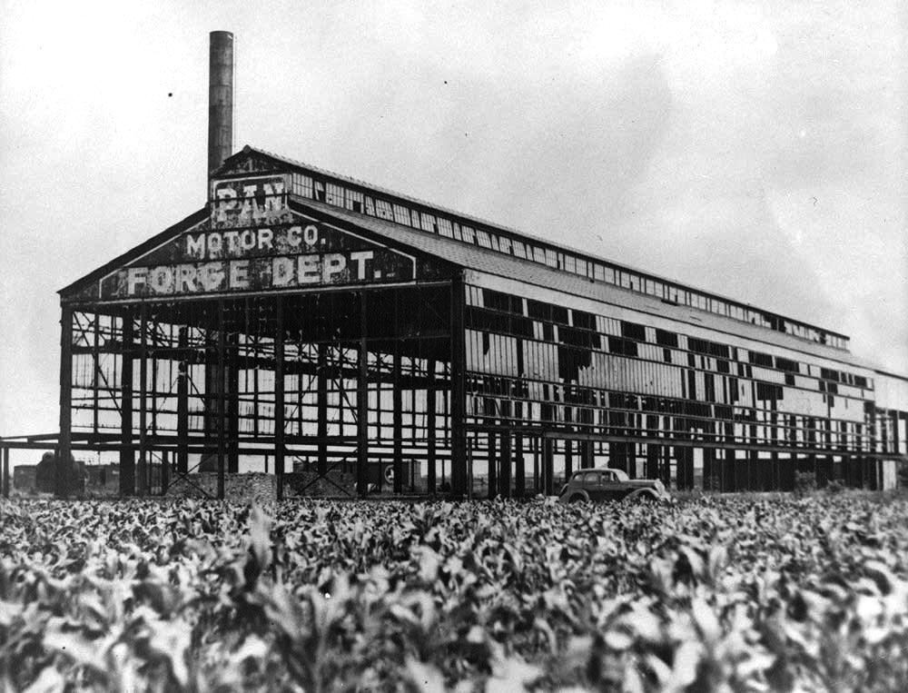 Pan Motor Company Factory circa 1940s
