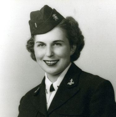 Veda Ponikvar in the 1940s