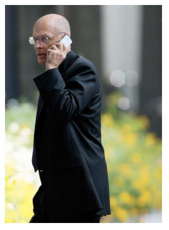 (9月17日)美国财政部长亨利·保尔森在会见乔治·W·布什总统后走