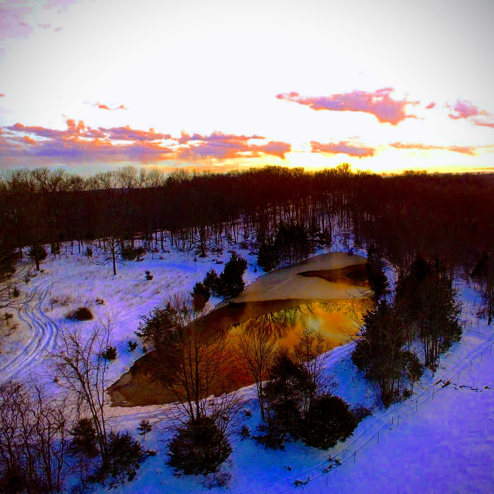 Pine Valley pond