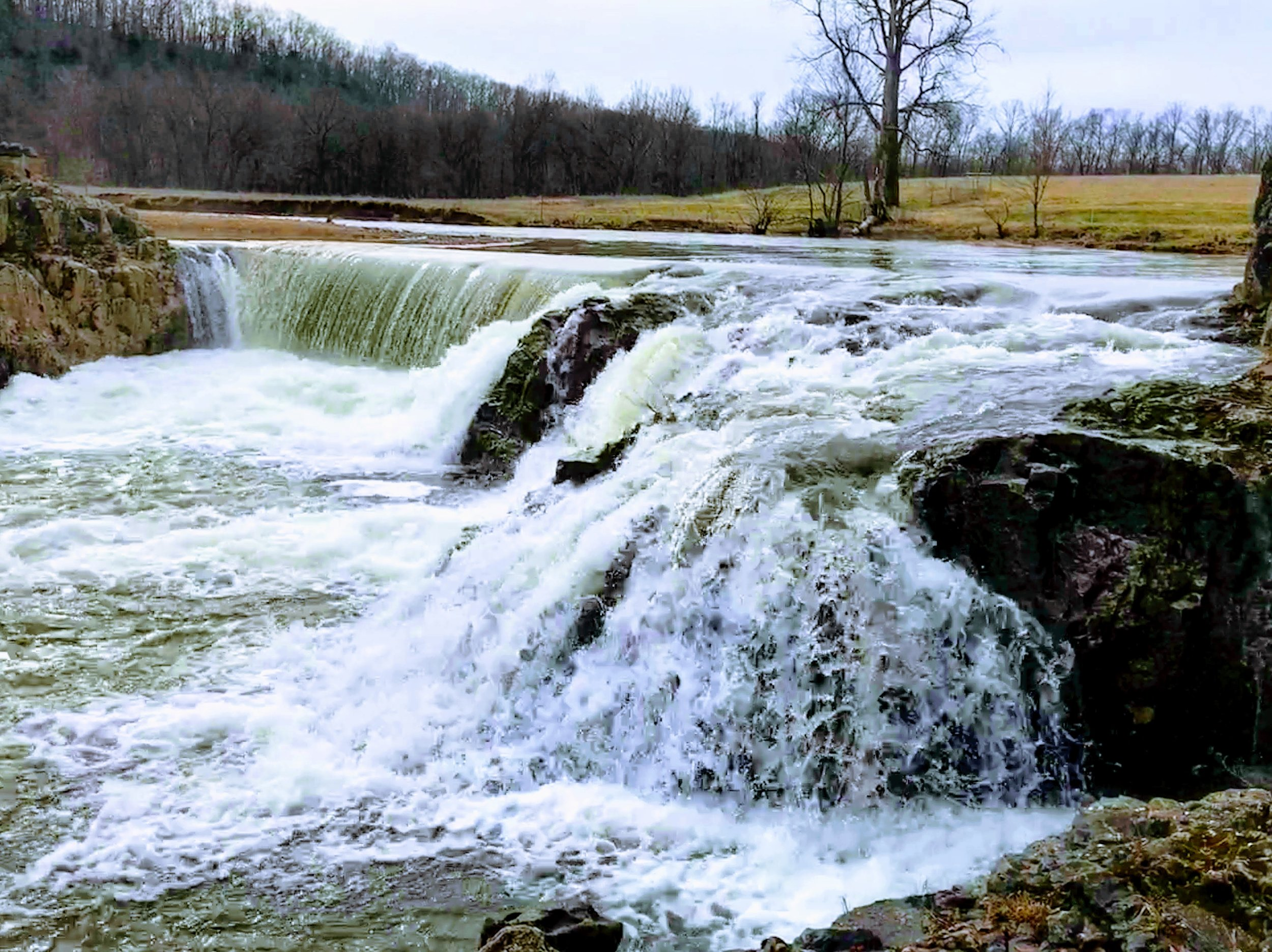 Dillard Mill waterfall