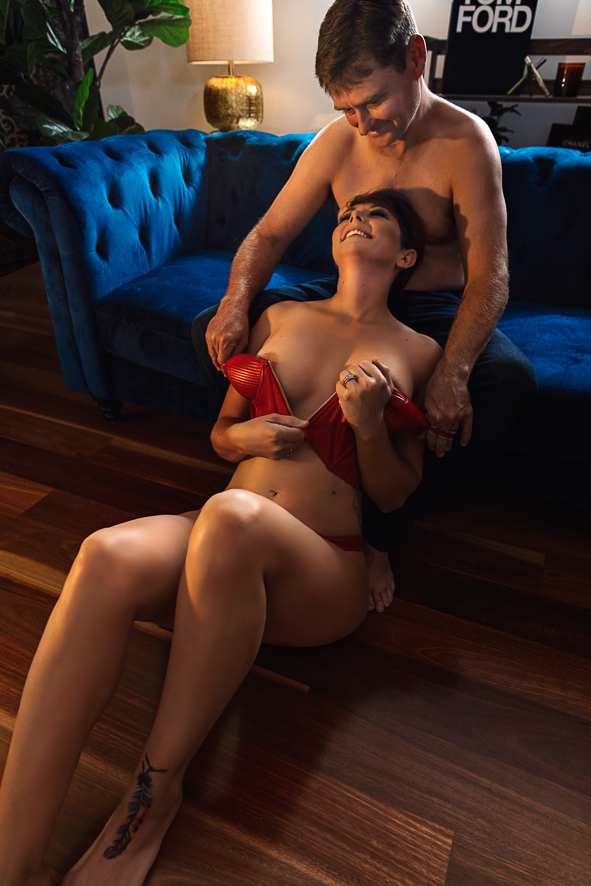 Brisbane Couples Boudoir