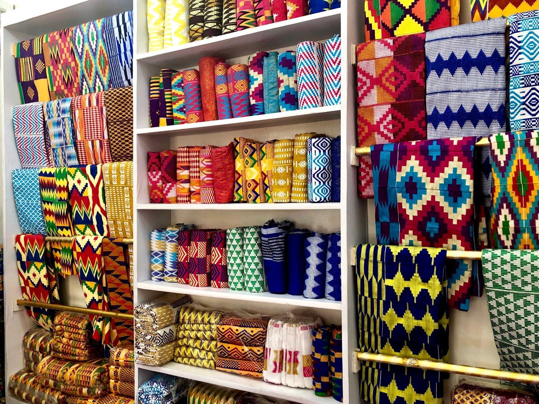 Perfect Kente Retail Store - Accra, Ghana
