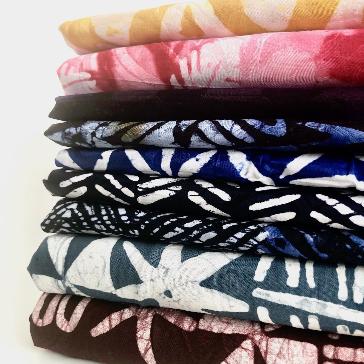 HAND-DYED PRINTS - Batik & Tie Dye from West Africa